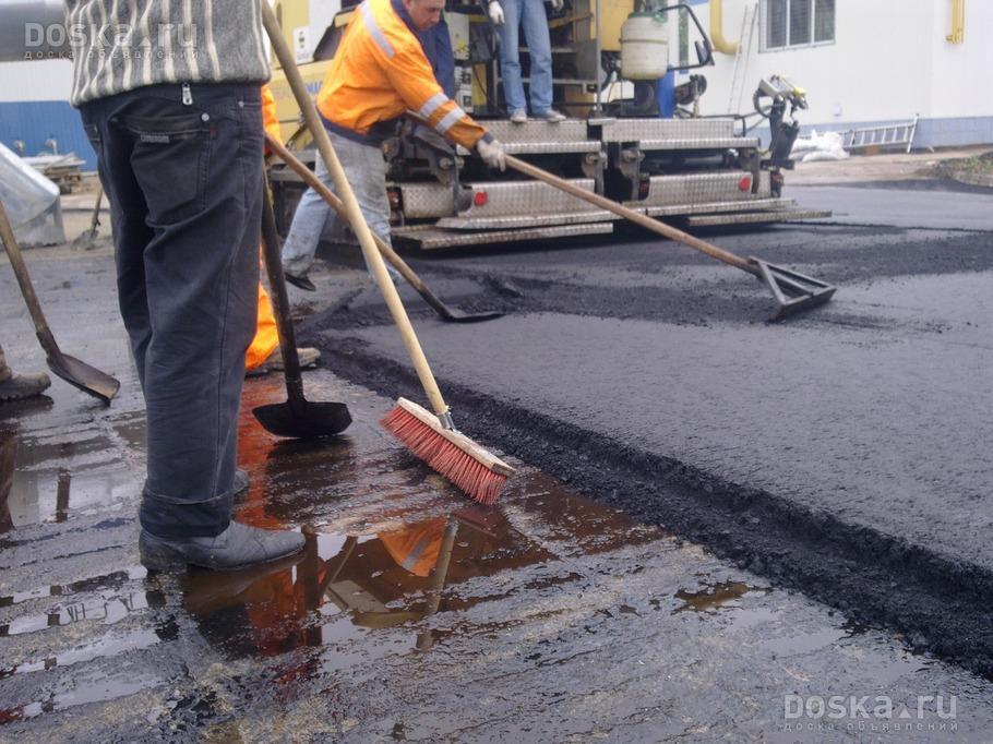 Этапы проведения ремонтных работ дорожного покрытия